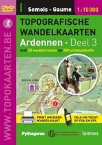 Topografische Wandelkaarten Ardennen Semois & Gaume / 3
