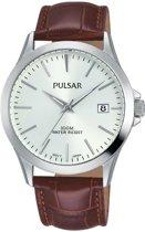 Pulsar PS9455X1 horloge heren - bruin - edelstaal