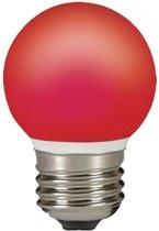 2 stuks Sylvania 0026887 LED Lamp E27 rood 0.5W