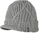 Barts Oscar Beanie - One Size - Heather Grey