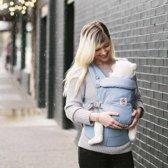 Ergobaby Adapt - Azure Blue - ergonomische draagzak vanaf de geboorte zonder verkleinkussen