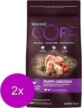 Wellness Core Grain Free Puppy Kalkoen - Hondenvoer - 2 x 1.5 kg
