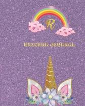 Unicorn Journal R: Activity book for the writing and drawing for girls with your favorite character
