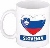 Hartje Slovenie mok / beker 300 ml
