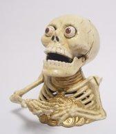 Gietijzeren skelet spaarpot