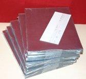 200 MICA - Transparante  A5 Vellen - Geschikt voor glasverf en om mooie kaarten te maken