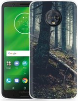 Moto G6 Plus Hoesje Dark Forest