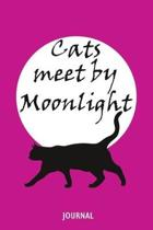 Cats Meet by Moonlight Journal