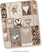 Elegante Plaid Romantic 130x160 - Prachtige Design - Heerlijk Zacht