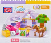 Mega Bloks Junior Builders Pretty Pony Stable