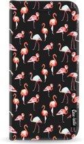 Casetastic Wallet Case Black Samsung Galaxy A6 (2018) - Flamingo Party