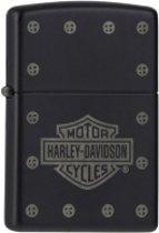 Zippo aansteker Harley Stud Logo