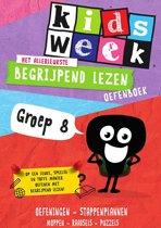Kidsweek - Het allerleukste begrijpend lezen oefenboek (groep 8)