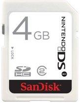 SanDisk 4 GB Geheugenkaart Wit Nds