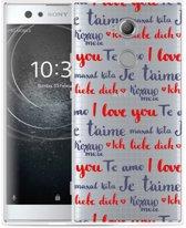 Sony Xperia XA2 Ultra Hoesje I Love you
