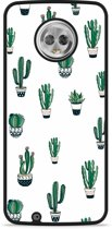 Moto G6 Hardcase Hoesje Cactus