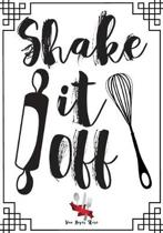 Shake it Off: Blank Recipe Journal to Write in, recipe box, empty recipe Food Cookbook Design, 100-Pages recipe cards 7'' x 10'' Colle