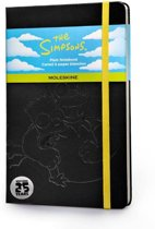 Moleskine notitieboek The Simpsons - Limited Edition - Large - Zwart - Blanco