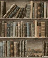 bol.com | Dutch Wallcoverings - Schuimvinyl boekenkast