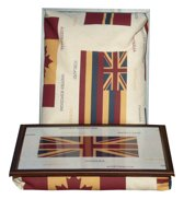 Margot Steel Laptray/Schoottafel Union Flag - 41x31x10 cm