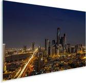 Uitzicht op de hoge gebouwen in Riyad Plexiglas 90x60 cm - Foto print op Glas (Plexiglas wanddecoratie)