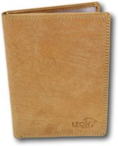 LeonDesign - 26-P2457-11 - mapje voor autopapieren - hunter bruin - leer