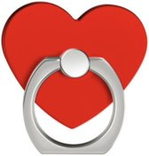 Rood hart Ring vinger houder- standaard voor telefoon of tablet