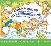 Five Little Monkeys Sitting in a Tree (Spanish/English)