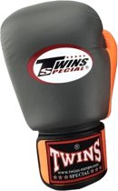 Twins BGVL-3 Boxing Gloves Grijs / Oranje-14 oz.