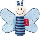sigikid Mini rammelaar vlinder blauw Red Stars 41180