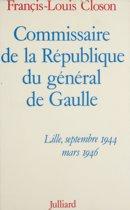 Commissaire de la République du général de Gaulle