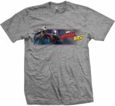 Ant-Man And The Wasp - Banner heren unisex T-shirt grijs - M