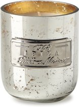Riviera Maison RM Scented Candle Ibiza - Geurkaars - Zilver - Ibiza