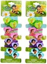 Disney Fairies - Tinkerbell haarelastiekjes | 16 stuks