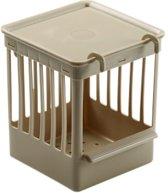 Fauna Plastic Nestkastje Met Tralies - Beige -
