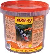 Aqua-Ki Oranje Quatro Vijvervisvlokken - 11 LTR