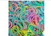 ProductGoods - 1000x Kleine elastiekjes Blauw/Multicolor