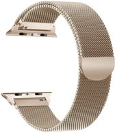 Apple Watch Series 5 (40 mm) Bandje - Milanees Bandje met Magneetsluiting - iCall - Goud