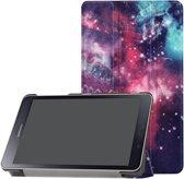 3-Vouw sleepcover hoes - Samsung Galaxy Tab A 8.0 inch (2019) - Galaxy