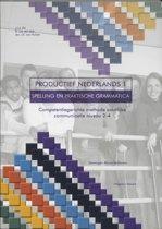 Productief Nederlands 1 - Spelling en Grammatica - Leerwerkboek