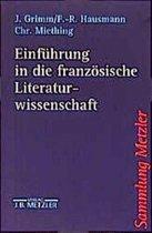 Einf hrung in Die Franz sische Literaturwissenschaft