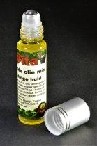 Natuurlijke Huidolie bij Droge Huid - Roller 10ml | Mix van 4 Oliën