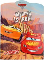 Disney Cars 3 Kleurboek met Stickers