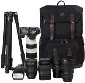 "Camera Backpack voor SLR/DSLR Cameras & 15"" Macbook Pro met Waterbestendige Regenhoes"
