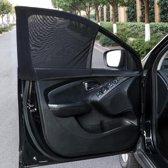 2 stuks auto zonnescherm | voorruit | zonbescherming | eenvoudige installatie | geschikt voor alle automerken | S 40 x 60 - 90cm (hxb)