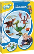 Totum Dinomania - Dino's maken met klei