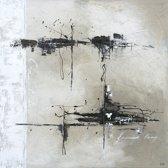Schilderij 'Expose' 100x100cm