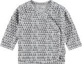 Noppies Unisex T-shirt - Grijs - Maat 62