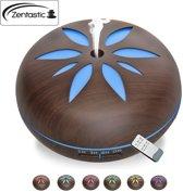 Zentastic Aroma luchtbevochtiger - 550 Ml - Inclusief afstandsbediening - Diffuser – Humidifier – Geurverspreider - Luchtbevochtiger