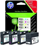 HP 932 XL + 933 XL - C2P42AE - Inktcartridge Zwart